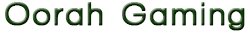Oorah Gaming - Official Sponsor of theDGL